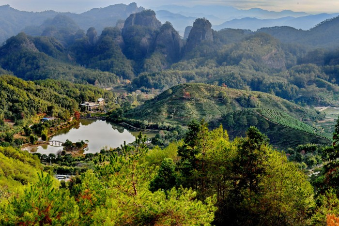 Wuyi Mountain in China's Fujian Province