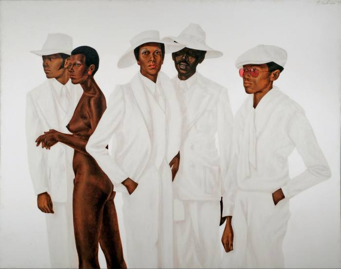 What's Going On (1974) by Barkley L Hendricks