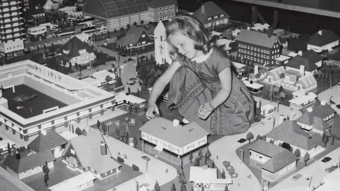 A Lego city at Selfridges in 1962