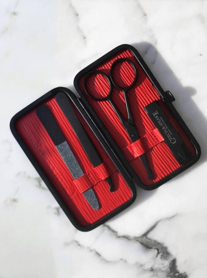 Czech &Speake Air-Safe manicure set,£235