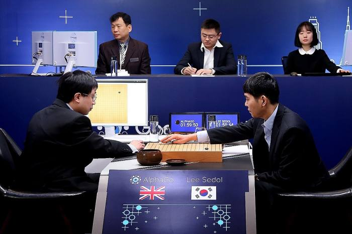 In 2016, Google's AI program AlphaGo beat professional Go player Lee Sedol 4-1 in a five-match series. Technologists had thought it would be at least another decade before AI would be powerful enough to win the complex game