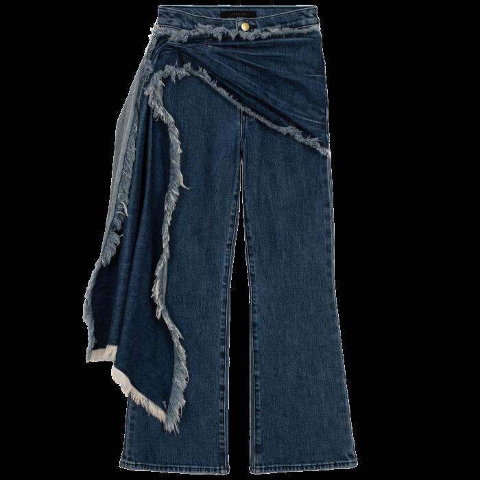 J Brand x Halpern super-wide- leg Valentina jeans in Metropole