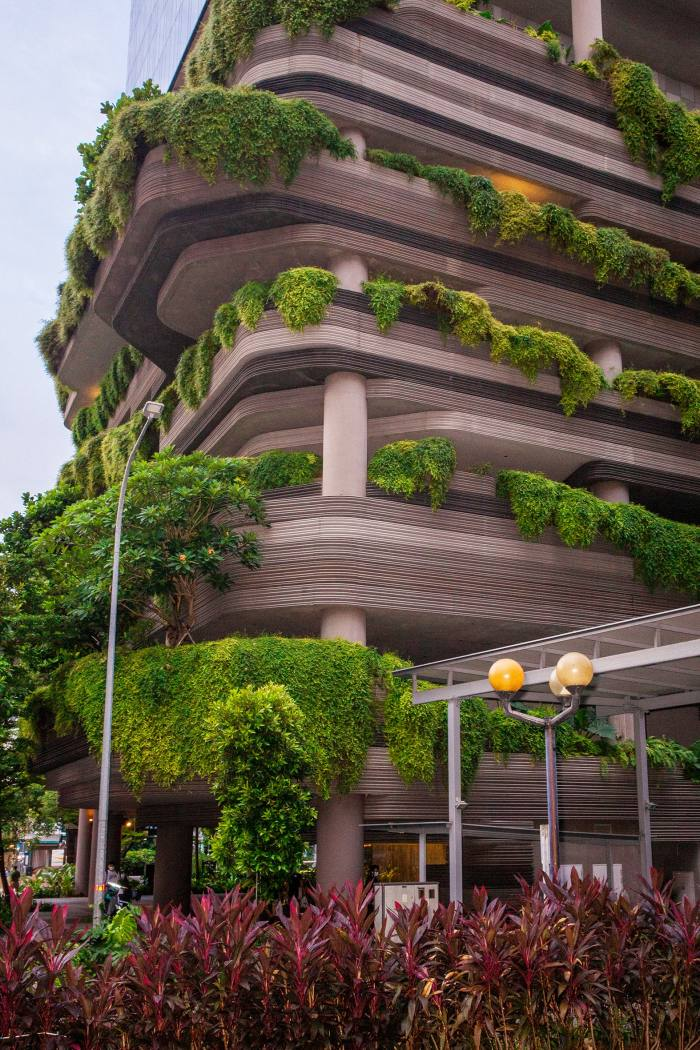 Pickering, an eco-friendly hotel in Singapore's central business district