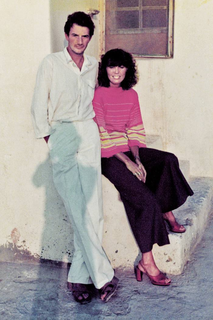 PaulSmith andPauline Denyer in Athens, 1975.