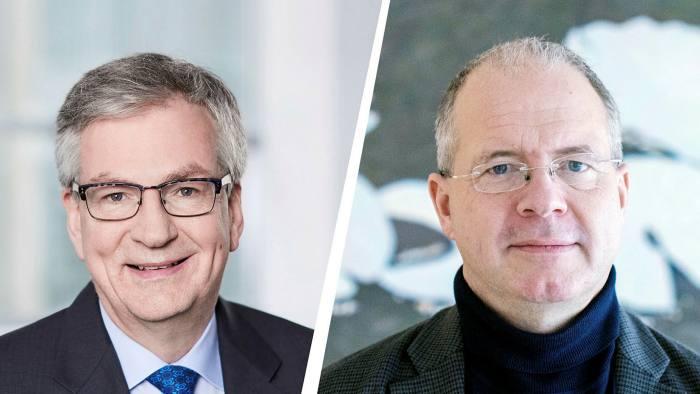 Daimler Truck's Martin Daum and Volvo's Martin Lundstedt