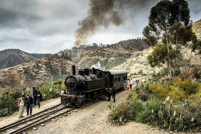 The steam train that Catherine and Don took to Embatcala: 'Surely one of the great train journeys of the world'