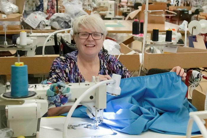 Fashion company David Nieper contacted the government a month ago offering to make gowns and scrubs for the NHS but no orders have yet been placed