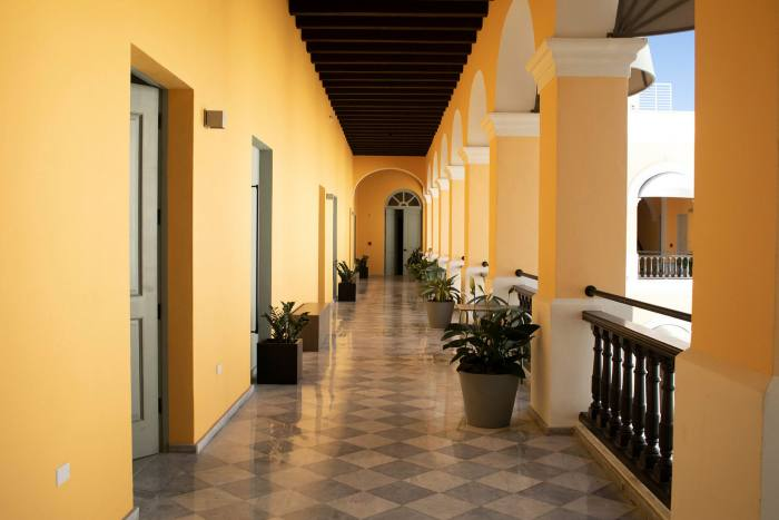 The Palacio Provincial, dating from the early 1800s, opened in January, the first significant new hotel in Old San Juan in two decades