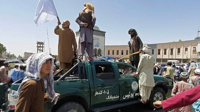Taliban encircles Kabul after taking Afghanistan's second city | Financial Times