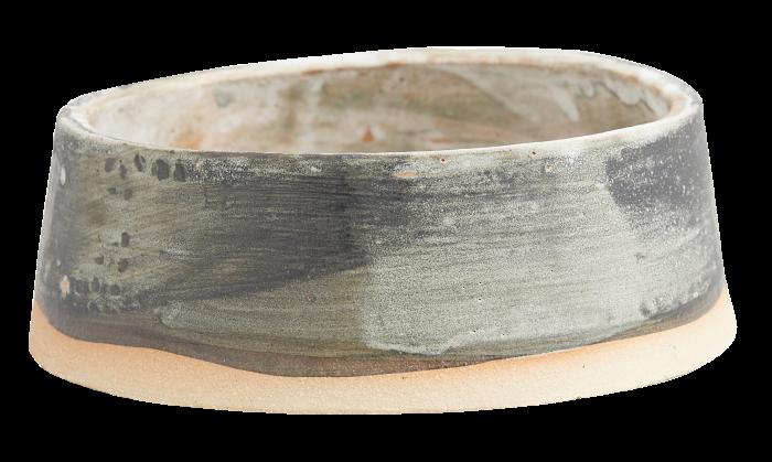 Ceramic dog bowl by Kintails x KANA London