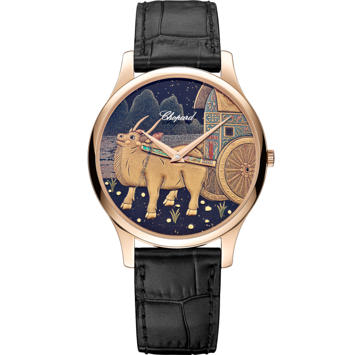 Chopard LUC XP Urushi Spirit of Shí Chen: 18ct ethical rose gold, £33,200. Limited edition of 88