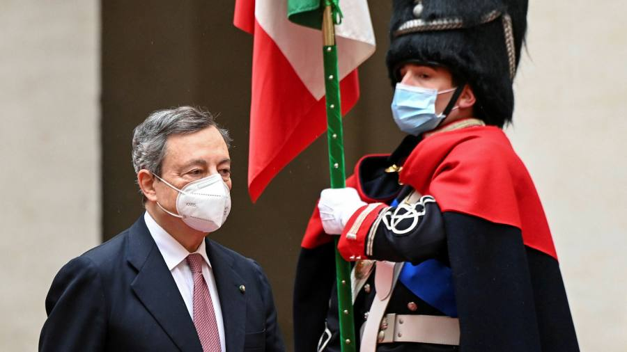 Mario Draghi Sworn In As Italy S New Prime Minister Financial Times