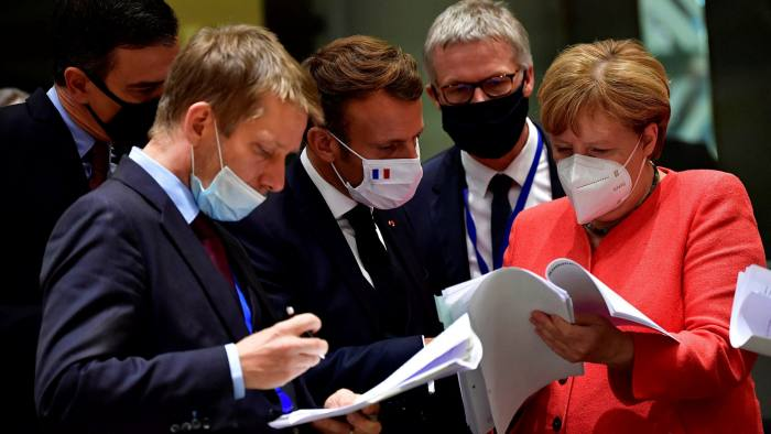 EU leaders agreed on a €750bn package aimed at funding post-pandemic relief efforts across the bloc
