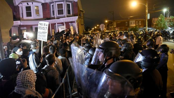Trump revives 'law and order' pitch after Philadelphia protests | Financial  Times
