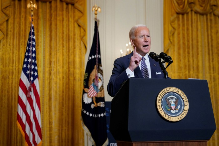 Joe Biden: 'We are in the midst of a fundamental debate about the future and direction of our world'