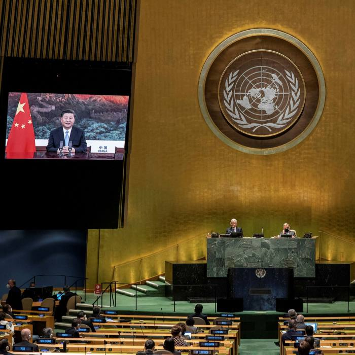 Xi Jinping, speaking during the 75th annual UN General Assembly, has pledged for China to be 'carbon neutral' by 2060