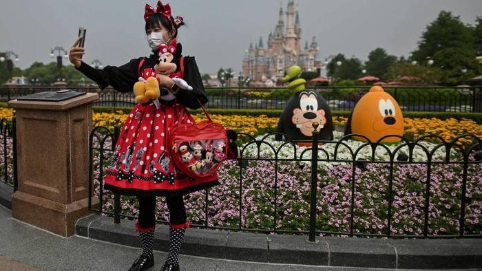 Disneyland Shanghai has kept some parts of the theme park closed, to minimise the risk of coronavirus cases