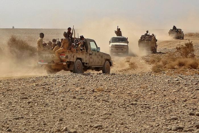 Jizan is close to the Yemen border and has been targeted by the Houthi rebel group