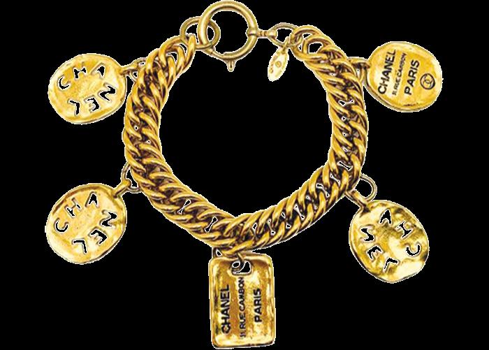 Chanel charm bracelet, vintage 1980s, £1,095, 1stdibs.com
