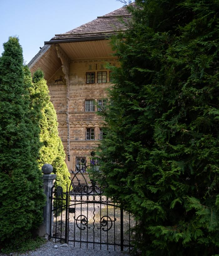 The Grand Chalet in Rossinière, near Gstaad – the last home of the late artist Balthus