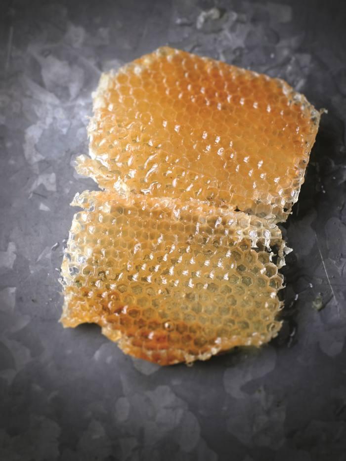 Honeycomb, as seen in Hattie Ellis's book Spoonfuls of Honey (Pavilion, £12.99)