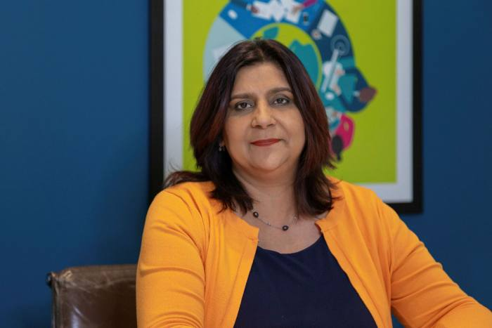 Cindy Rampersaud of Pearson UK says this period has enabled managers to 'see a more human side of people'