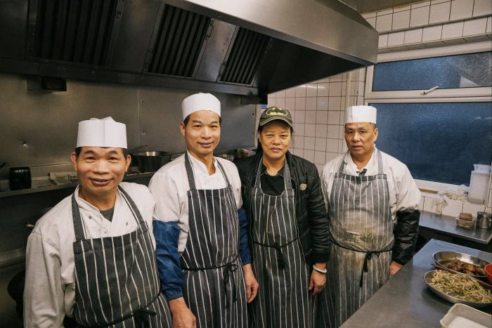 The team of chefs
