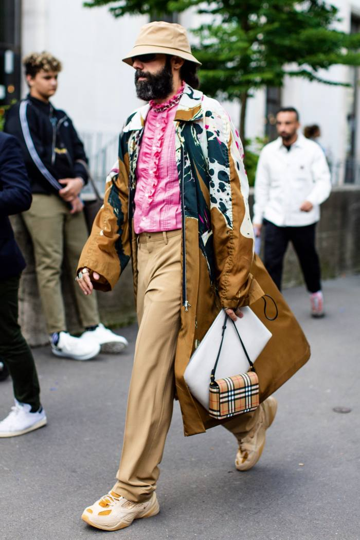 Street style at the spring/summer 2020 shows in Paris