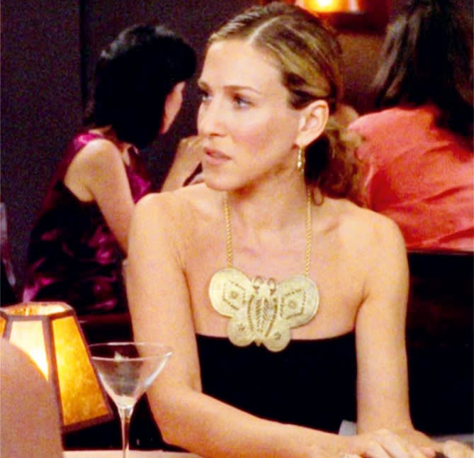 AKenneth Jay Lane necklace in Sex and the City