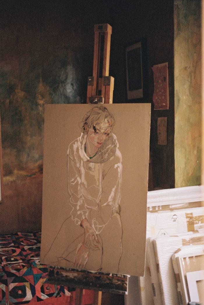 Arthur Arbesser (Sitting – Hands Folded), 2002-5
