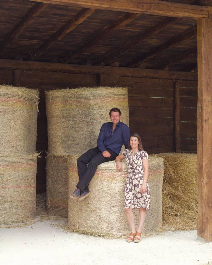 Salvatore and Vittoria Ferragamo elected to work with their father at Il Borro