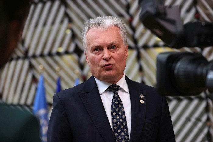 Gitanas Nosida, Lietuvos prezidentas