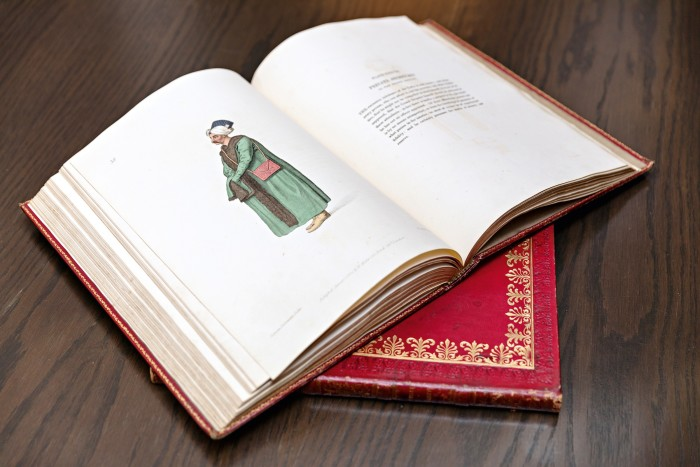 One of Assouline's two volumes on 18th-century Turkish costume and uniforms