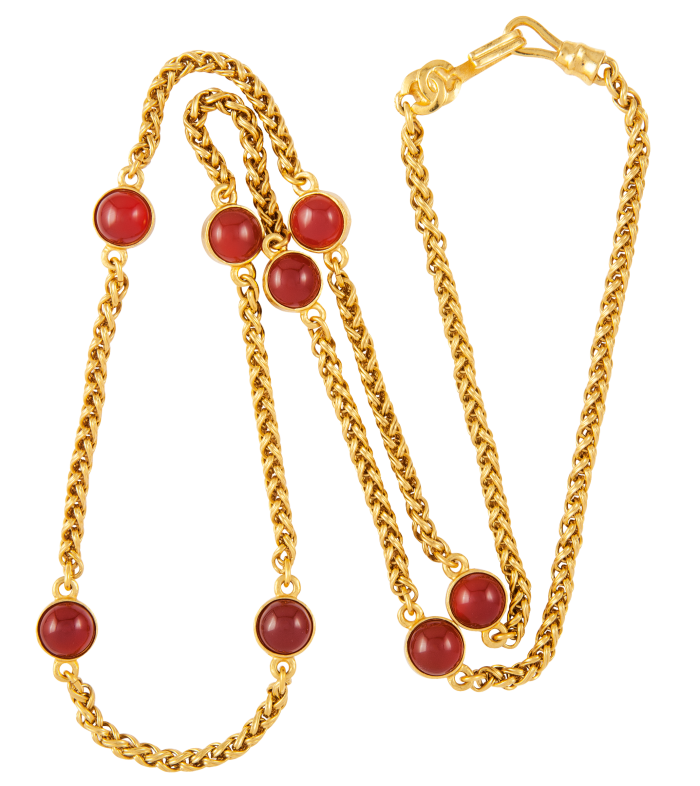 1995 Chanel necklace, £1,975 from Susan Caplan