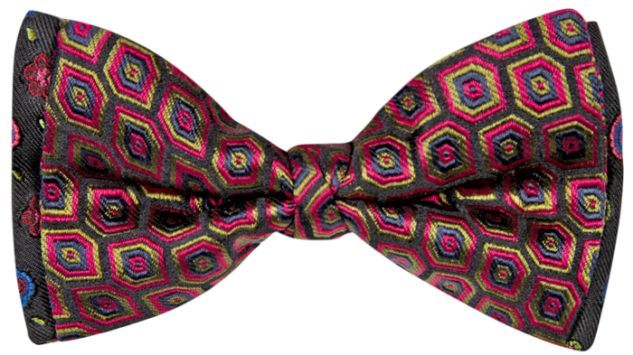 Etro two-fabric bow tie, £110, etro.com