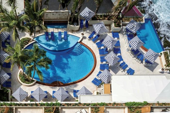 The Condado Vanderbilt resort in the capital San Juan