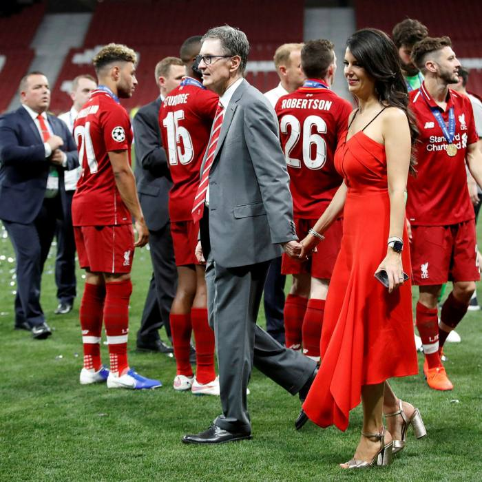 Liverpool FC owner John W Henry with his wife after last year's Champions League final. The US billionaire is in talks over a stock market listing of his sports holdings, valued at $8bn