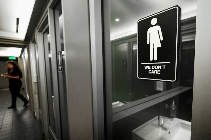 Gender-neutral signs: PayPal took a stand on North Carolina's 'bathroom bill'