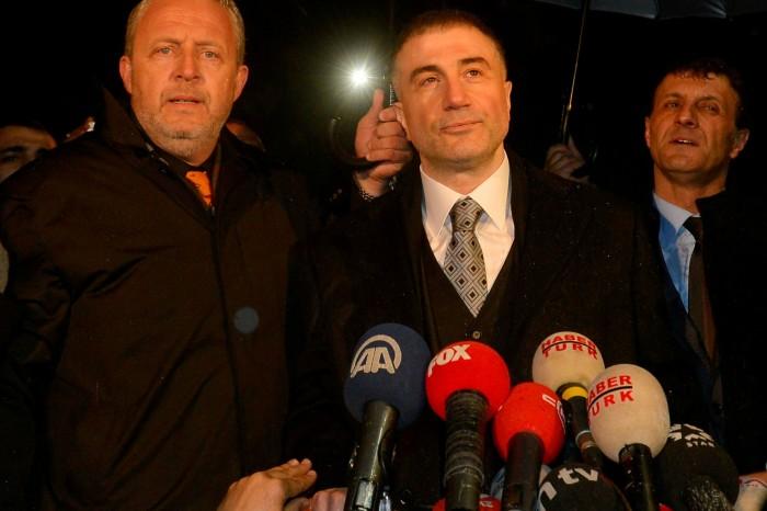 Sedat Peker upon release from prison in 2014