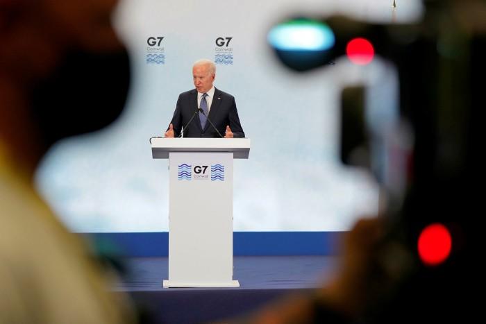 US President Joe Biden reassured Europe's leaders that security was America's 'sacred obligation'