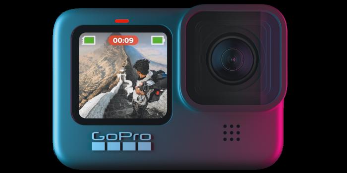 GoPro HERO9 Black high-definition waterproof action camera, £330