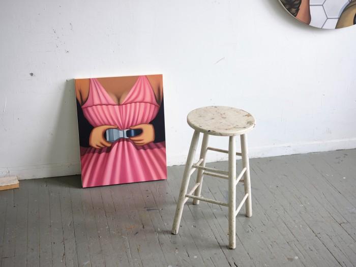 Julie Curtiss, Untitled (seatbelt), 2021