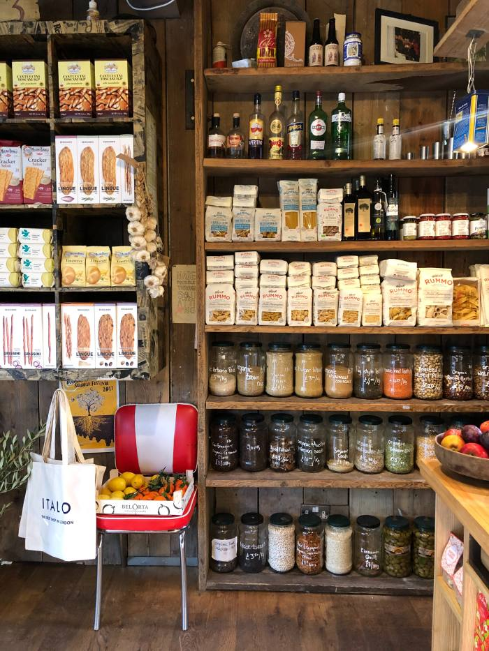 Rare delicacies pack the shelves at Italo in Vauxhall