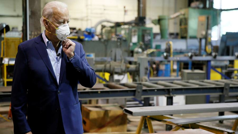 Joe Biden aims to outspend Donald Trump on TV ads ahead of US election image