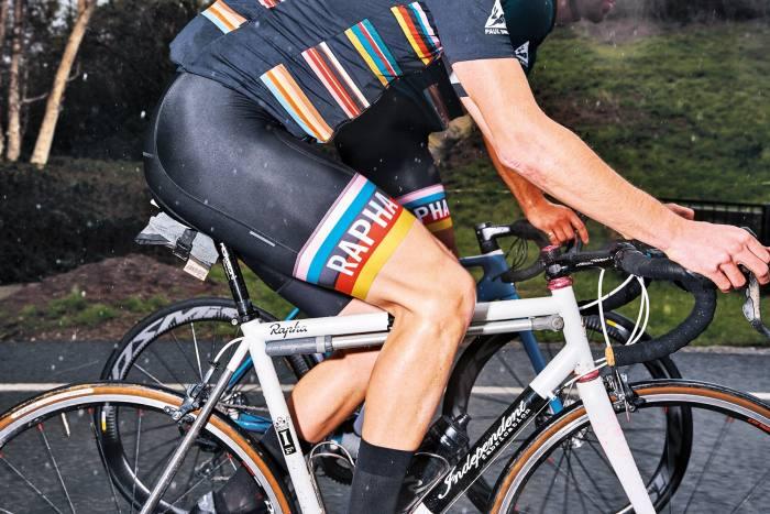 Paul Smith x Rapha cycling club