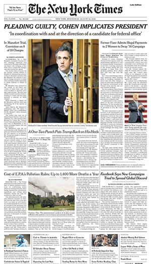 The New York Times has emerged as a rare force in US journalism