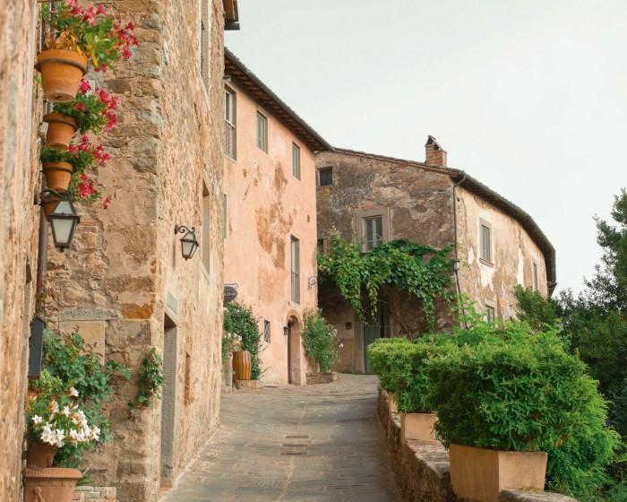 The estate's medieval hamletnow features 38luxury suites