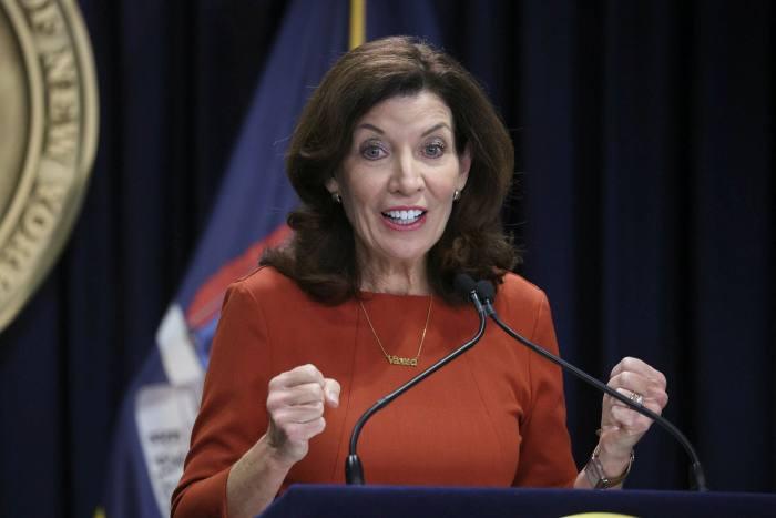 Kathy Hochul, gouverneure de New York