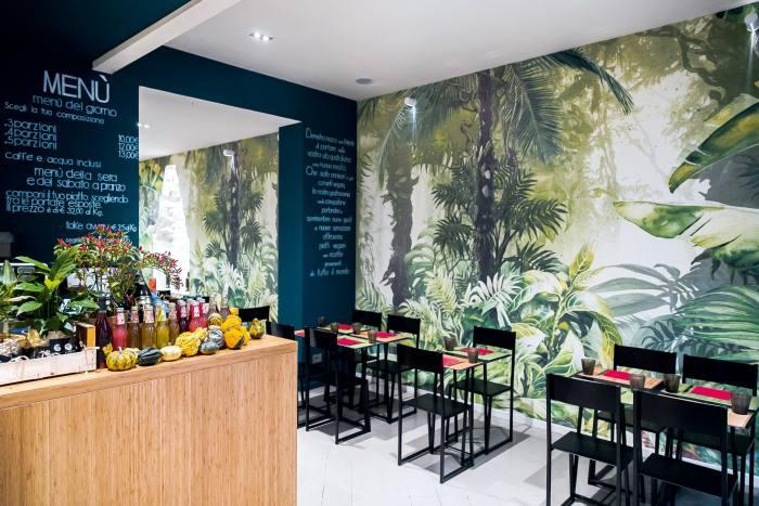 Vegan restaurant Demetra