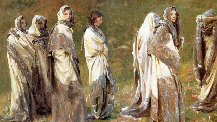 Cashmere by John Singer Sargent, 1908 – one of the many artworks inspired by the Kashmiri shawl